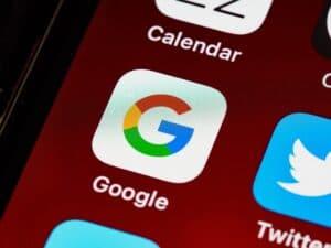 google icon on iphone
